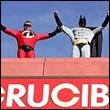 Бэтмен и М-р Невероятный на крыше Crucible