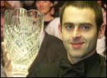Ронни О'Салливэн, Победитель Irish Masters 2005, фото—WorldSnooker.co.uk