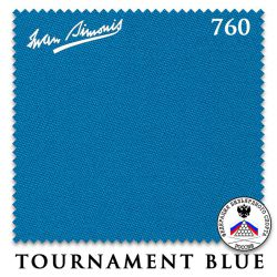 Сукно Iwan Simonis 760 (Tournament Blue)