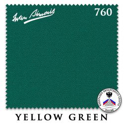 Сукно Iwan Simonis 760 (206 см, Yellow Green)