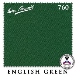 Сукно Iwan Simonis 760 (English Green)