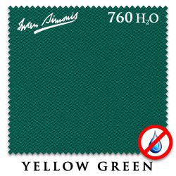 Сукно Iwan Simonis 760 H2O (Yellow Green)