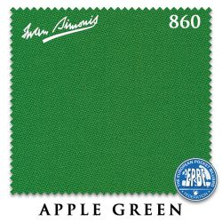 Сукно Iwan Simonis 860 (Apple Green)