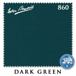 Сукно Iwan Simonis 860 (Dark Green)