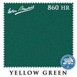Сукно Iwan Simonis 860HR (Yellow Green)